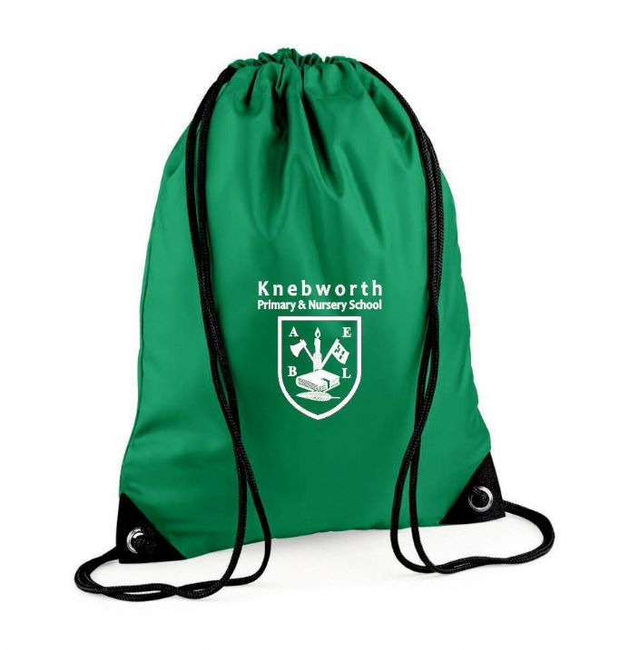 Knebworth Primary Kelly Green Bag